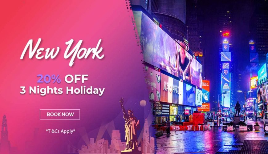 New York holiday packages