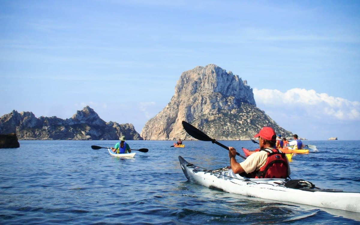 Kayak tour in Ibiza