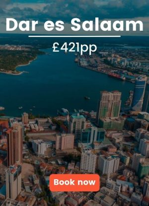 Flights to Dar es Salaam