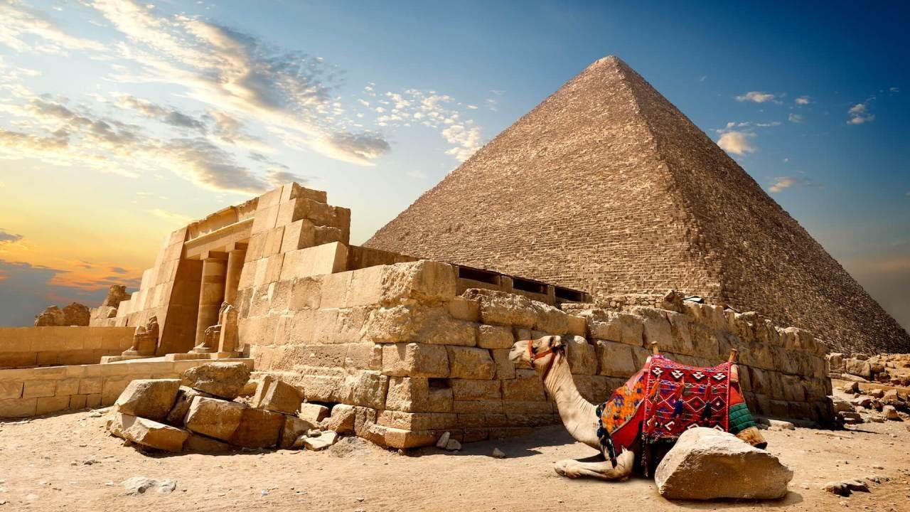 Egypt pyramids Holiday